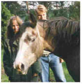 GWARINA grey mare born 1992 by Glaz out of Gwarousa by Rousseau